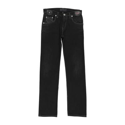ロイ ロジャース ROŸ ROGER'S パンツ ブラック 10 コットン 90% / ポリアクリル 10% パンツ