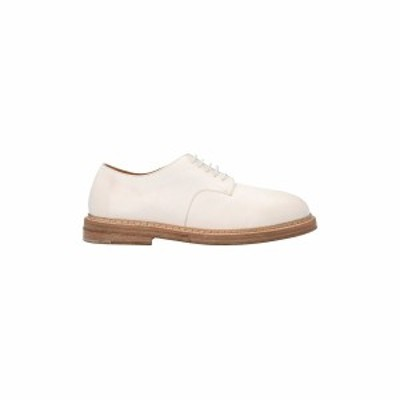 MARSELL/マルセル White Nasello derby shoes メンズ 春夏2021 MM3110150110S330 ju