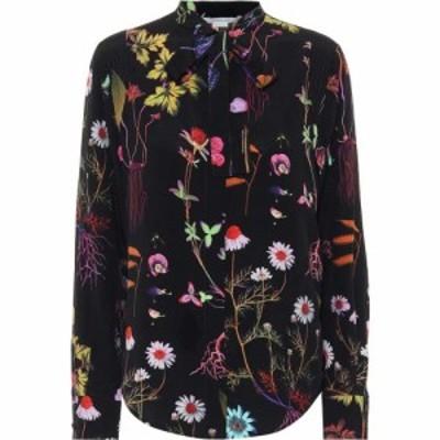 ステラ マッカートニー Stella McCartney レディース ブラウス・シャツ トップス Printed silk shirt Black