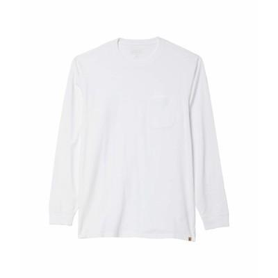 ペンドルトン シャツ トップス メンズ Deschutes Long Sleeve Pocket Tee White