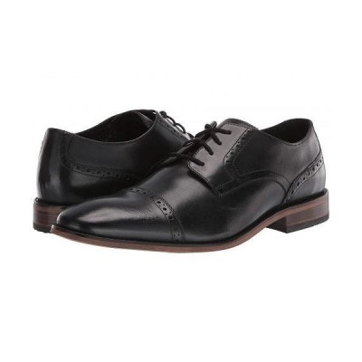 Bostonian ボストニアン メンズ 男性用 シューズ 靴 オックスフォード 紳士靴 通勤靴 Lamont Cap - Black Leather