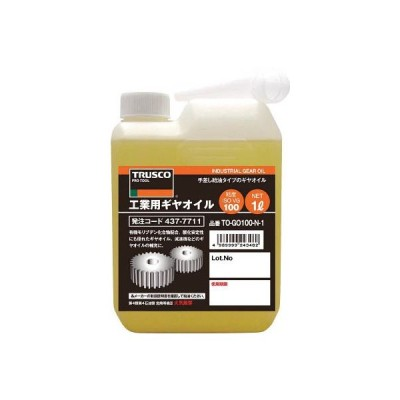 TRUSCO 工業用ギヤオイル VG220 1L TOGO220N1/1本【4377737】