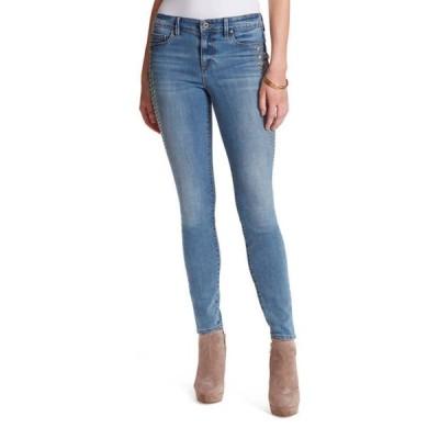 ジェシカシンプソン レディース デニムパンツ ボトムス High Rise Exposed Button Skinny Jeans