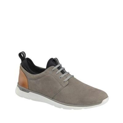 ジョンストンアンドマーフィー メンズ スニーカー シューズ Men's XC4 Prentiss Plain Toe Suede Waterproof Sneakers Grey