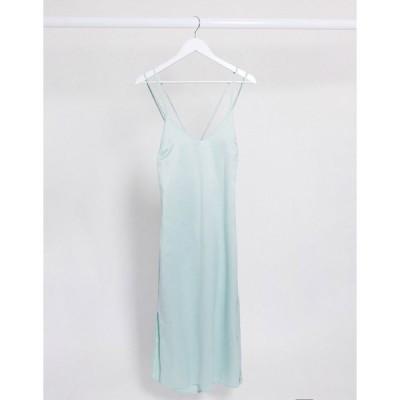 フォースレックレス ミディドレス レディース 4th & Reckless slip cami dress in mint エイソス ASOS