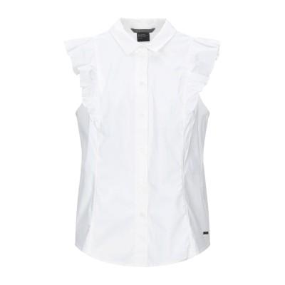 ARMANI EXCHANGE シャツ アイボリー XL コットン 96% / ポリウレタン 4% シャツ