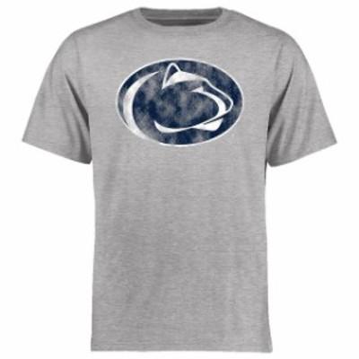 Fanatics Branded ファナティクス ブランド スポーツ用品  Penn State Nittany Lions Ash Big & Tall Classic Primary T-Shirt