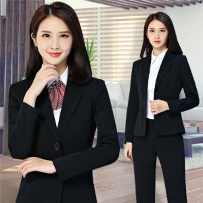 スーツ クールビズ リクルートスーツ レディーススーツ パンツスーツ 大きいサイズ セット フォーマル ブラックスーツ スカート 面接 事