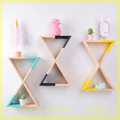 ウォールシェルフ おしゃれ 壁掛け 北欧 棚 お洒落 ラック インテリア 家具 三角形