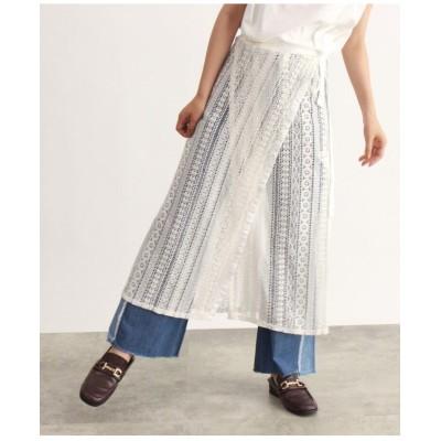 レース巻きスカート
