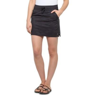 キョーダン Kyodan レディース ミニスカート スコート スカート woven skort - built-in shorts Black Camo