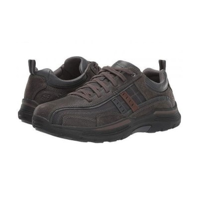 SKECHERS スケッチャーズ メンズ 男性用 シューズ 靴 スニーカー 運動靴 Relaxed Fit Expended - Manden - Charcoal