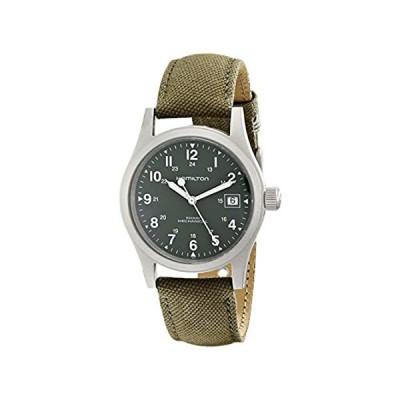 HAMILTON ハミルトン メンズ 時計 腕時計 Men's HML-H69419363 Khaki Field Green Strap Analo