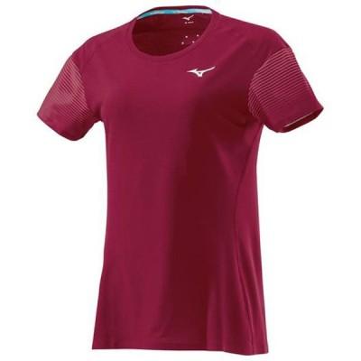 ランニングTシャツ レディース MIZUNO ミズノ ランニング ウエア ランニングシャツ (J2MA8701)