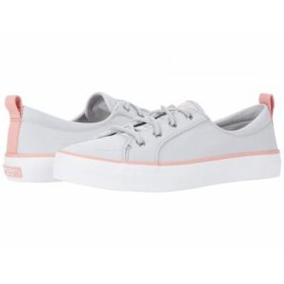 Sperry スペリー レディース 女性用 シューズ 靴 スニーカー 運動靴 Crest Vibe SeaCycled Grey/Pink【送料無料】