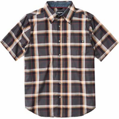 (取寄)マーモット ミーカー ショートスリーブ シャツ - メンズ Marmot Meeker Short-Sleeve Shirt - Men's Dark Steel