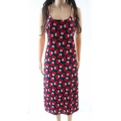 KARL LAGERFELD カールラガーフェルド ファッション ドレス Karl Lagerfeld NEW Red Womens Size 4 Floral Print Sheath Dress