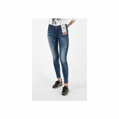 DIESEL/ディーゼル Blue レディース Skinny Fit SLANDY Jeans L32 dk