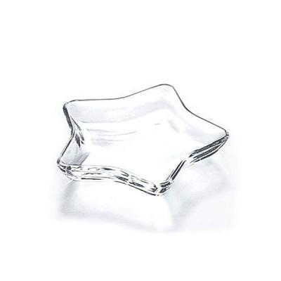 東洋佐々木ガラス ガラス スター 小皿 120×140×厚さ20mm ガラス製