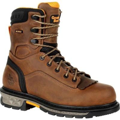 ジョージアブーツ Georgia Boot メンズ ブーツ ワークブーツ シューズ・靴 Carbo-Tec LTX Waterproof Work Boot black and brown