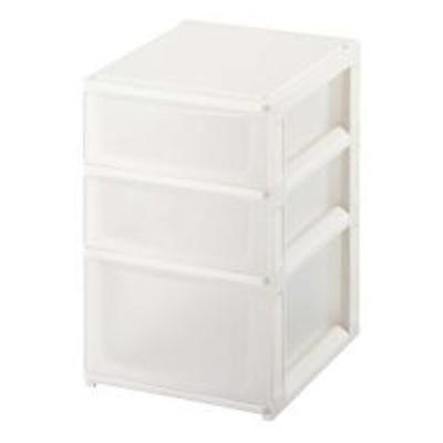 収納ケース ポスデコ A5サイズ 浅型2段 深型1段 2個セット ( 収納ボックス 小物収納 収納用品 引き出し A5タイプ プラスチック 小物入れ 小物ケース レターケース )