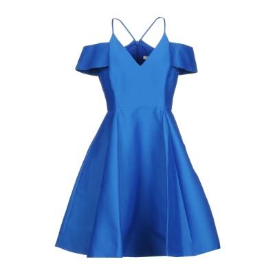 ホルストン・ヘリテージ HALSTON ミニワンピース&ドレス ブルー 2 コットン 81% / シルク 19% ミニワンピース&ドレス