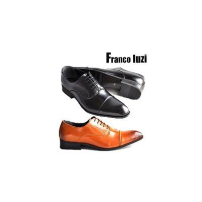 ビジネスシューズ フランコルッチ FRANCO LUZI 4030 メンズ 紳士靴 本革 日本製 ストレートチップ 父の日 就職祝