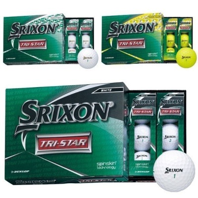 ダンロップ スリクソン TRI-STAR ゴルフボール 1ダース(12球入)2020 DUNLOP SRIXON