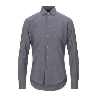 ブライアン デールズ BRIAN DALES シャツ スチールグレー 39 ウール 100% シャツ