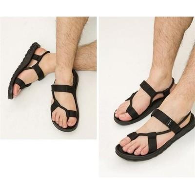 サンダルメンズストラップ靴シューズコンフォートアウトドアファッションビーチリラックス痛くない超軽量メンズスリッパビーチサンダル