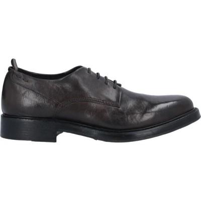 アレキサンダーオット ALEXANDER HOTTO メンズ シューズ・靴 laced shoes Dark brown