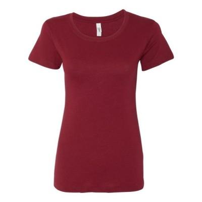レディース 衣類 トップス Women's Ideal Crew Next Level Tシャツ
