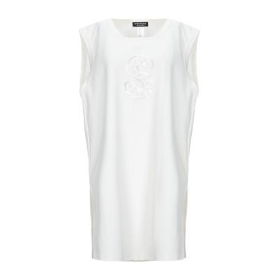 ツインセット シモーナ バルビエリ TWINSET ミニワンピース&ドレス ホワイト 48 ポリエステル 100% ミニワンピース&ドレス