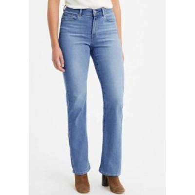 リーバイス レディース デニムパンツ ボトムス Classic Bootcut Jeans Lapis Sights