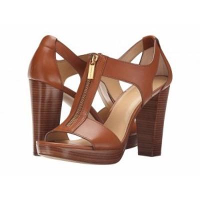 MICHAEL Michael Kors マイケルコース レディース 女性用 シューズ 靴 ヒール Berkley Sandal Luggage Vacheta【送料無料】