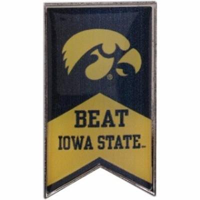 Aminco アミンコ スポーツ用品  Iowa Hawkeyes Beat Iowa State Rivalry Banner Pin