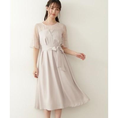 ドレス クロスビスチェドレス
