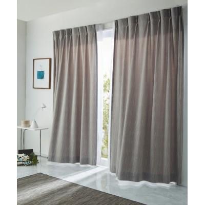 【送料無料!】ピンウェーブ柄カーテン ドレープカーテン(遮光あり・なし) Curtains, blackout curtains, thermal curtains, Drape(ニッセン、nissen)