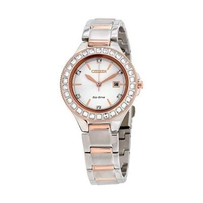 腕時計 シチズン 逆輸入 FE1196-57A Citizen Eco-Drive Classic Quartz Womens Watch, Stainless Steel, Cr