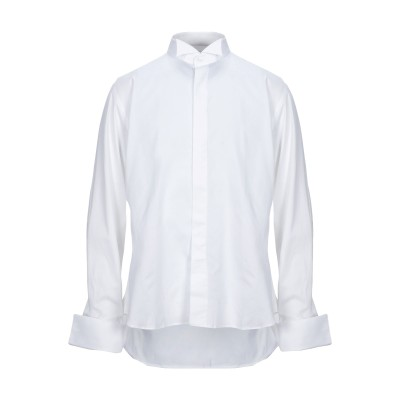 ANGELO NARDELLI シャツ ホワイト 43 コットン 100% シャツ