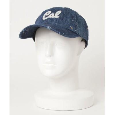 おしゃれスタ / DENIM PAINT WPN CAP(ST) WOMEN 帽子 > キャップ