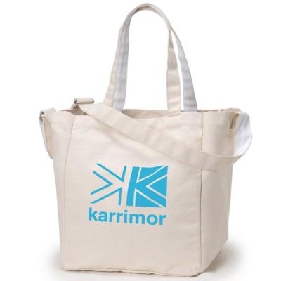 カリマー karrimor cotton tote K.Blue Logo