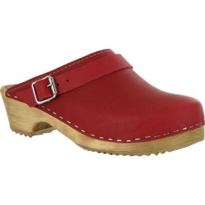 ミア Mia レディース クロッグ シューズ・靴 Alma Clog Red Leather