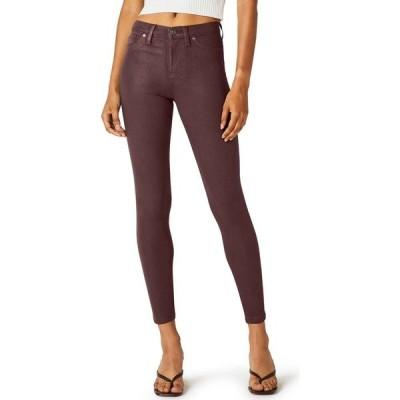ハドソンジーンズ Hudson Jeans レディース ジーンズ・デニム ボトムス・パンツ Nico Coated Super-Skinny Ankle Jeans High Shine Brick