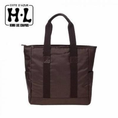 H.L アッシュエル A4サイズ対応メンズトートバッグ B-HLM165003BRN ブラウン 【送料無料】(トートバッグ、メンズバッグ、ビジネスバッグ