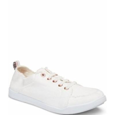 バイオニック レディース スニーカー シューズ Pismo Canvas Slip On Sneakers Cream