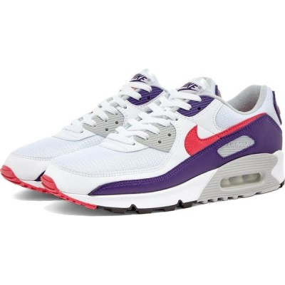 ナイキ Nike レディース スニーカー シューズ・靴 Air Max III W White/Eggplant/Grey