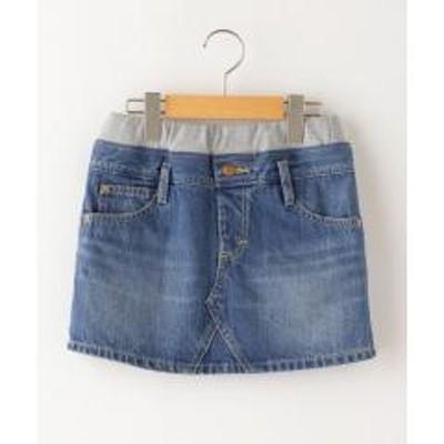 シップスLee:デニム スカート(130~150cm)【お取り寄せ商品】