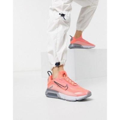 ナイキ レディース スニーカー シューズ Nike Air Max 2090 pink trainers Pink