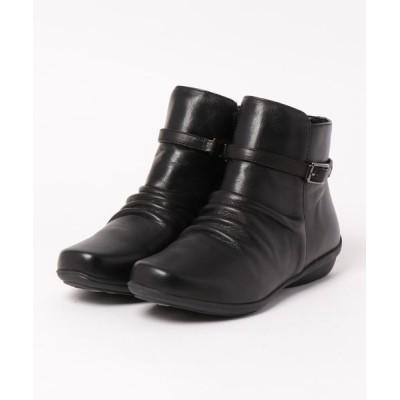 Xti Shoes / FELICE FERIE レザー ベルト使い ギャザーブーツ WOMEN シューズ > ブーツ